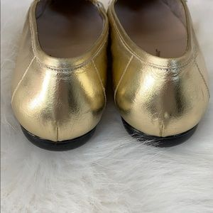 Salvatore Ferragamo Shoes - Ferragammo Gold Penny Loafer